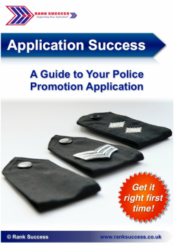 Police application booklet