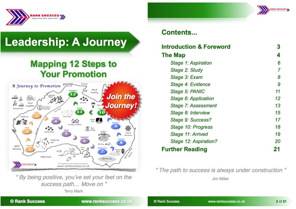 12 step journey to promotion