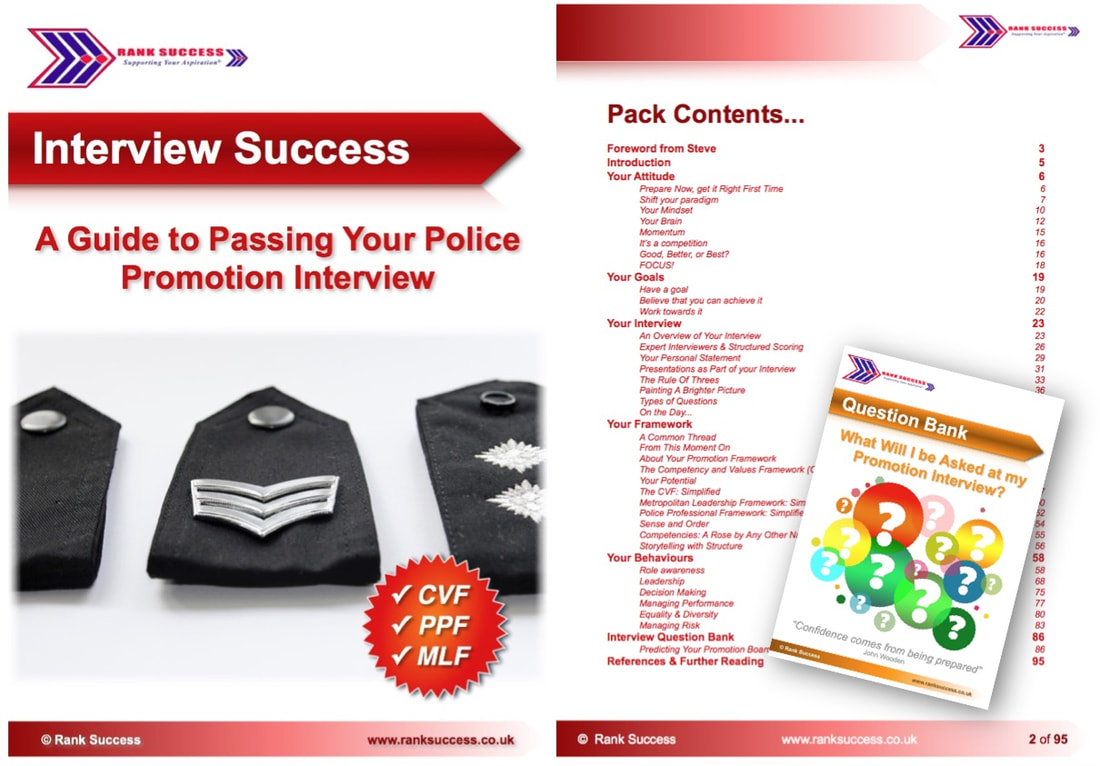Rank Success | eBooks to assist with your police promotion
