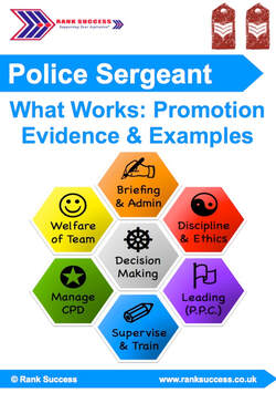 Sergeant promotion examples
