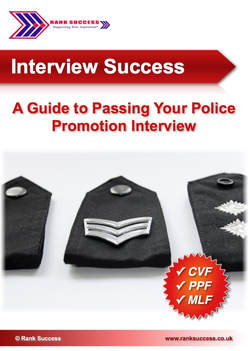 Promotion board interview